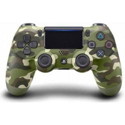 دسته پلی استیشن Dual Shock 4 سری اسلیم Green Camouflage