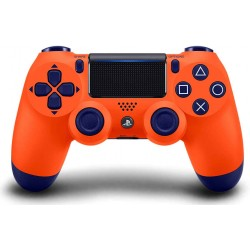 دسته پلی استیشن Dual Shock 4 سری اسلیم Sunset Orange
