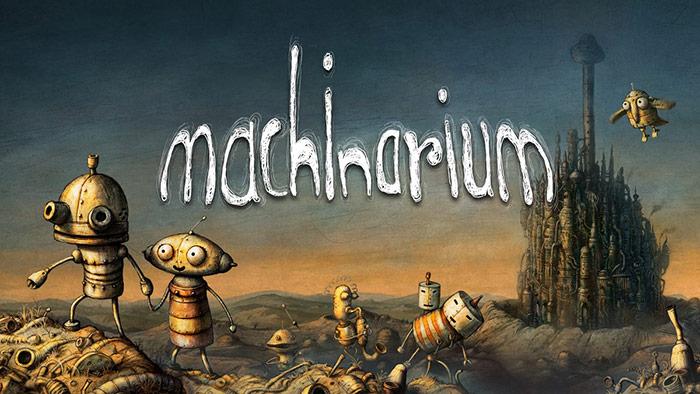 بازی machinarium آهن ها عاشق می شوند